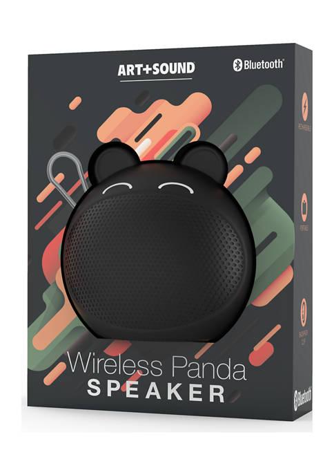 Art + Sound Wireless Panda Speaker