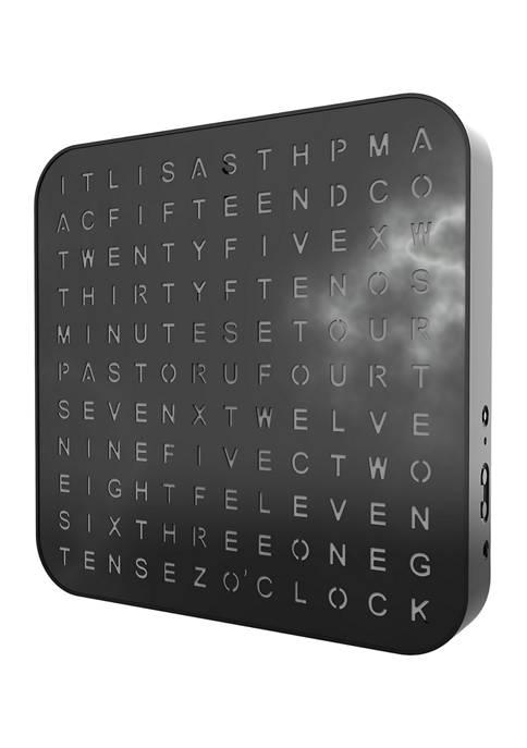 Soundverse Illuminated LED Clock and Speaker