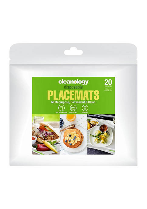Disposable Placemats - Set of 20
