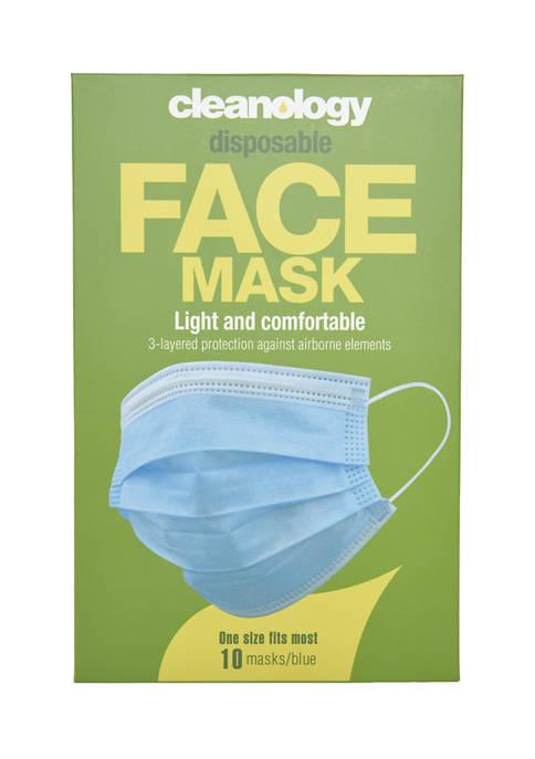 Cleanology Disposable Face Masks