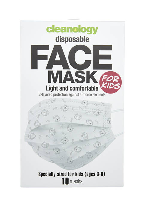 Cleanology Disposable Face Masks For Kids