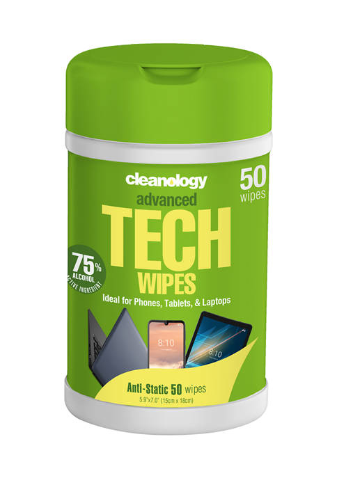 Cleanology Advanced Tech Wipes Pack of 50