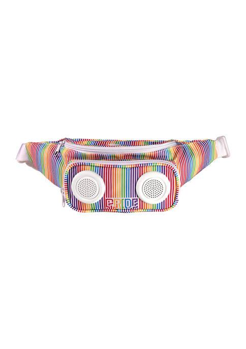 Rainbow Fanny Pack Speaker