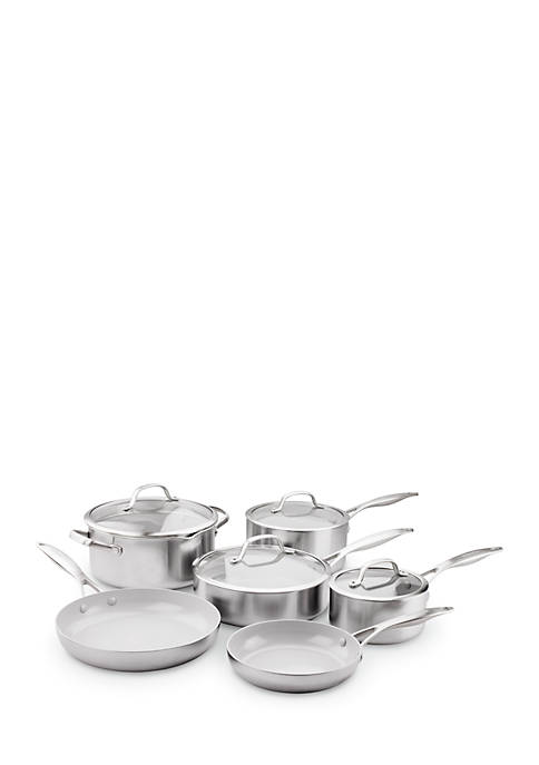 Venice Pro Ceramic Non-Stick 10 Piece Cookware Set