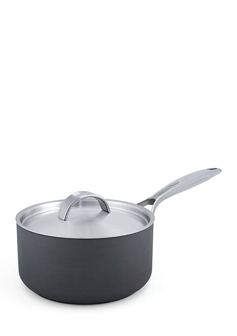 Greenpan Paris Pro 2QT Ceramic Non-Stick Covered Saucepan