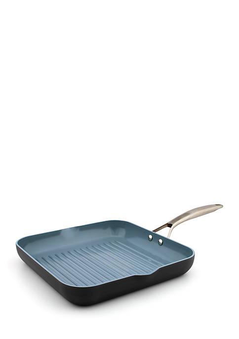 Greenpan Paris Pro 11-inch Ceramic Non-Stick Square Grill