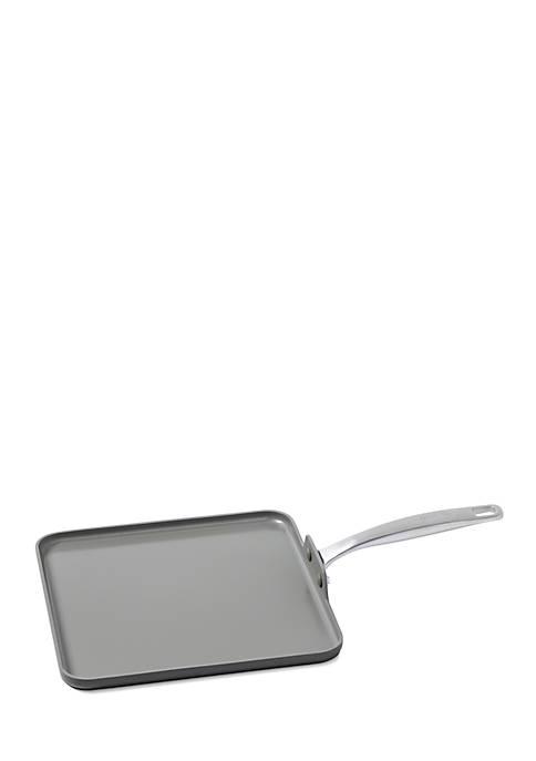 Greenpan Chatham 11-in. Ceramic Non-Stick Square Griddle