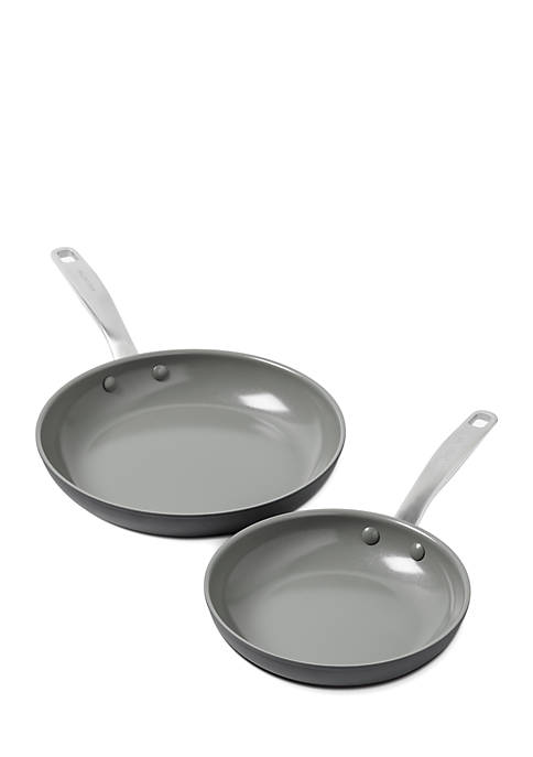 Greenpan Chatham 8-inch and 10-inch Ceramic Non-Stick Open