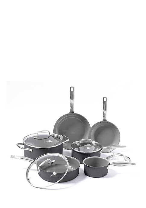 Greenpan Chatham Ceramic Non-Stick 10 Piece Cookware Set