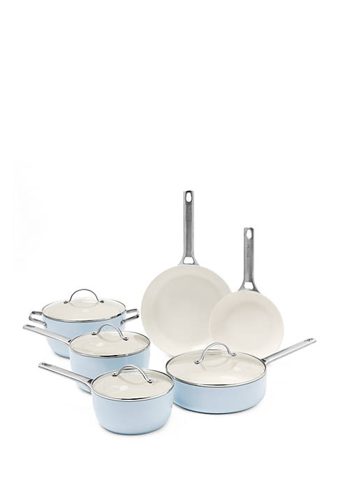 Greenpan Padova Ceramic Non-Stick 10 Piece Cookware Set