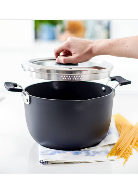 Greenpan Levels Hard Anodized Stackable Ceramic Nonstick Stockpot