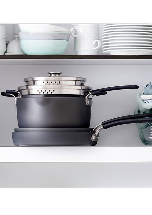 Greenpan Levels Hard Anodized Stackable Ceramic Nonstick