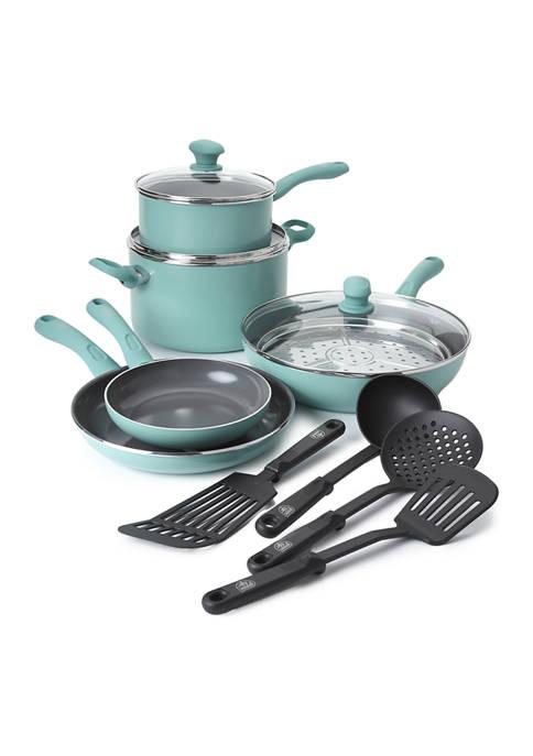 GreenLife 13 Piece Cookware Set