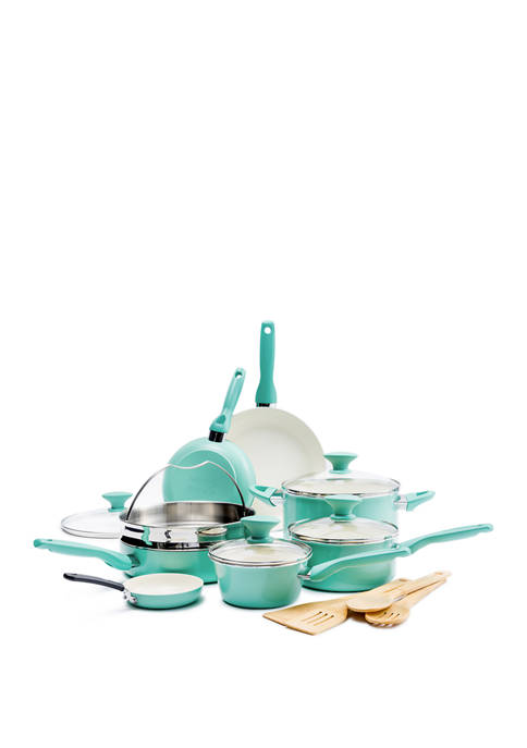 Greenpan Rio 16 Piece Ceramic Cookware Set