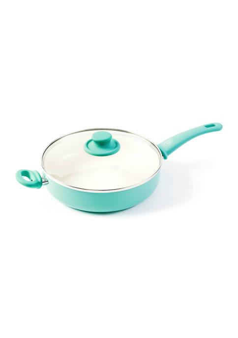 GreenLife Soft Grip 5 Quart Ceramic Non Stick