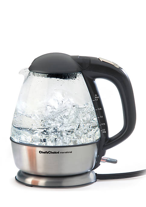 Edgecraft Cordless Electric Glass Kettle Model 680
