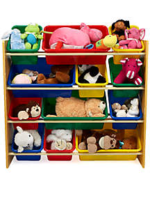 MindReader Four Tier Wood Toy Organizer