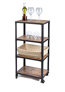 Charm 4-Tier Utility Cart
