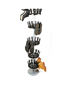 5-Tier Revolving Shoe Rack