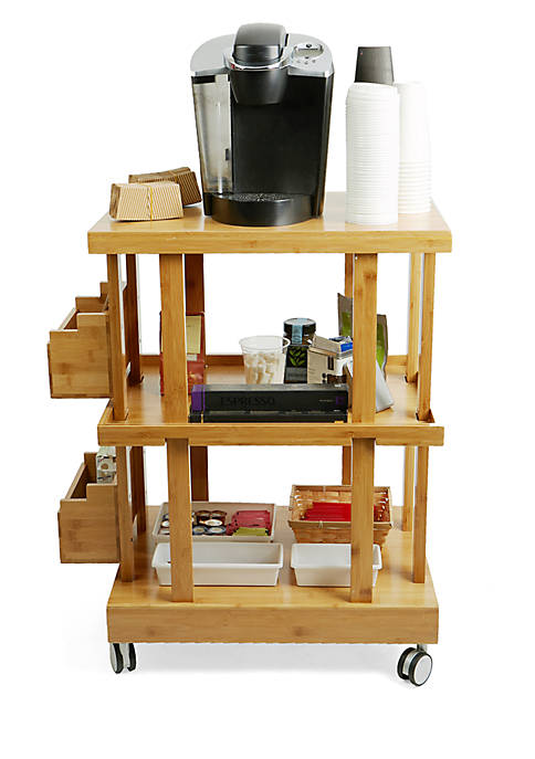 MindReader 3-Tier Mobile Utility Storage Cart