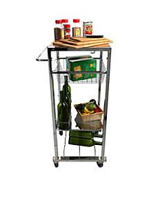 Chop Block Mobile Kitchen Cart