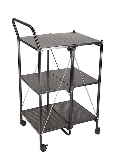 MindReader 3-Tier Foldable Cart