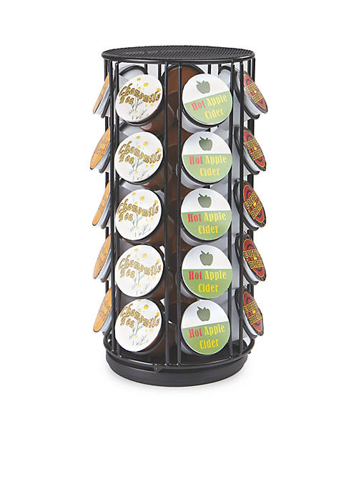 MindReader 35 Capacity Rotating Metal K-Cup Carousel