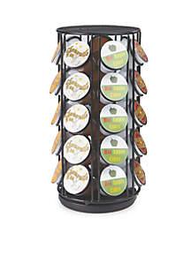 35 Capacity Rotating Metal K-Cup Carousel