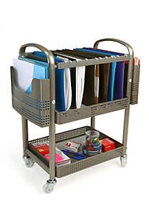 Heavy Duty Mobile File Cart