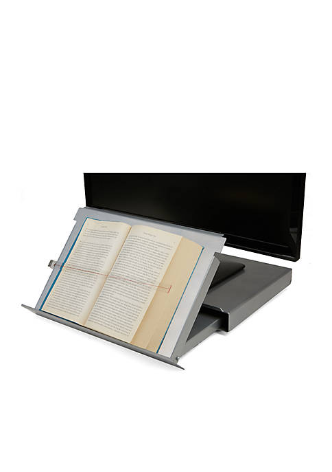 MindReader Metal Monitor Stand Riser Document Holder