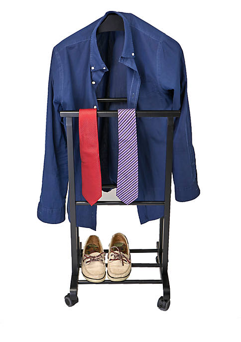 MindReader Standing Valet Double Rack