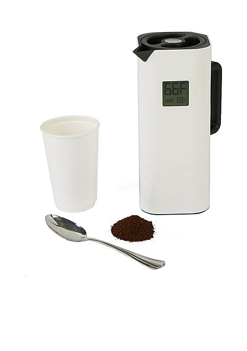 MindReader Double Wall Thermal Coffee Carafe with Temperature