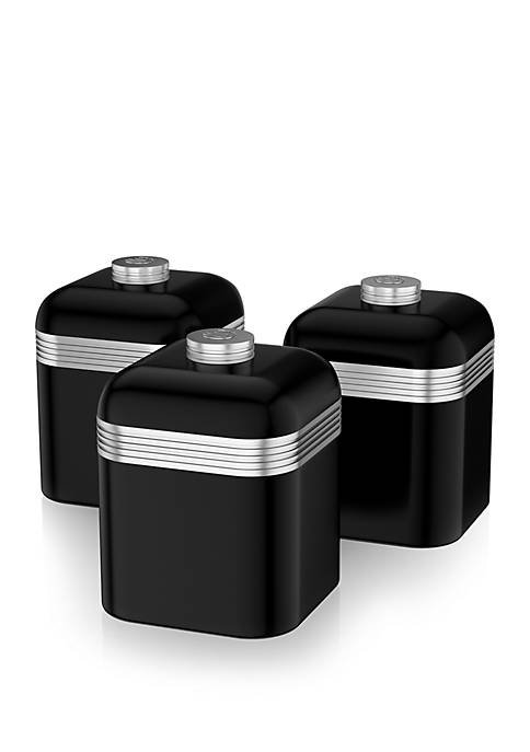 Retro Canisters- Set of 3