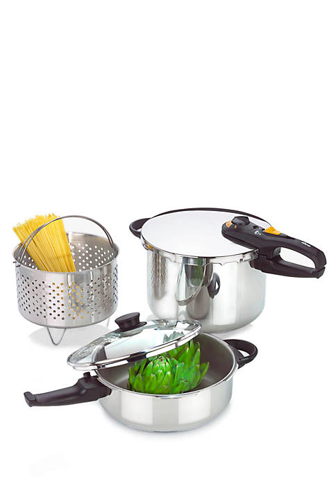 Fagor® Duo Combi 5-piece Pressure Cooker Set
