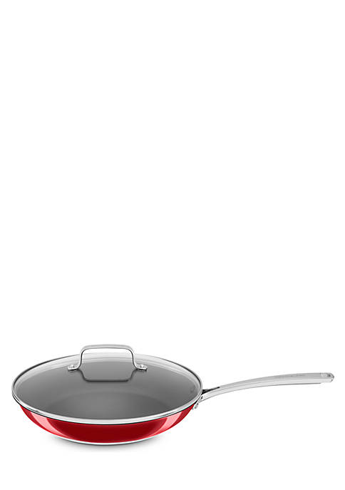 KitchenAid® 12-in. Stainless Steel Nonstick Skillet with Glass