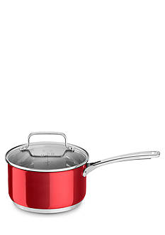 KitchenAid® 3-qt. Stainless Steel Saucepan with Lid KC2S30PLPC