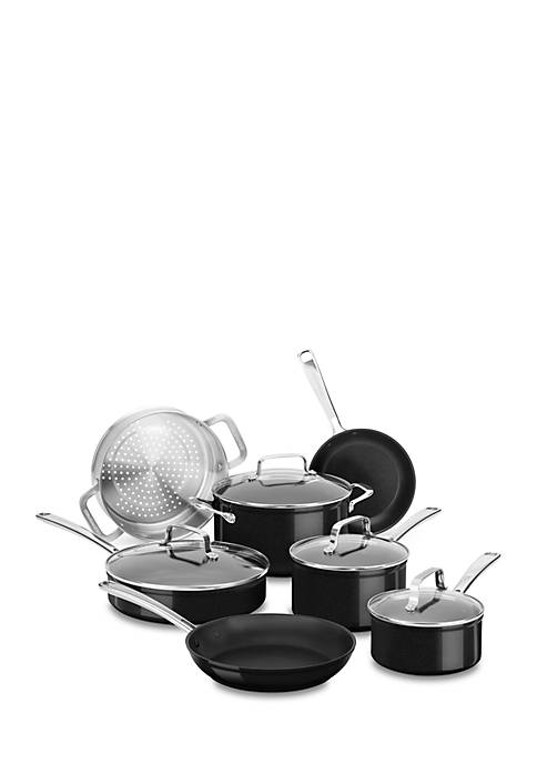 KitchenAid® Hard Anodized Nonstick 11-Piece Set KC3H1S11BE
