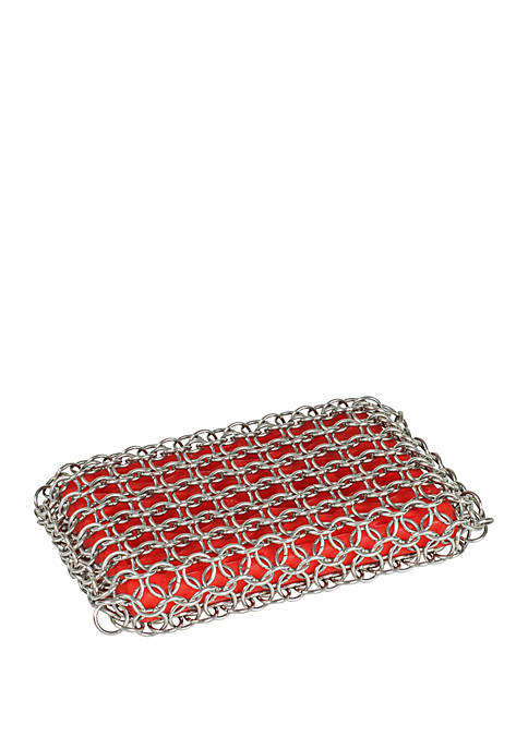 Lodge® Red Rectangle Scrubbing Pad