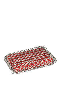 Lodge® Red Rectangle Scrubbing Pad
