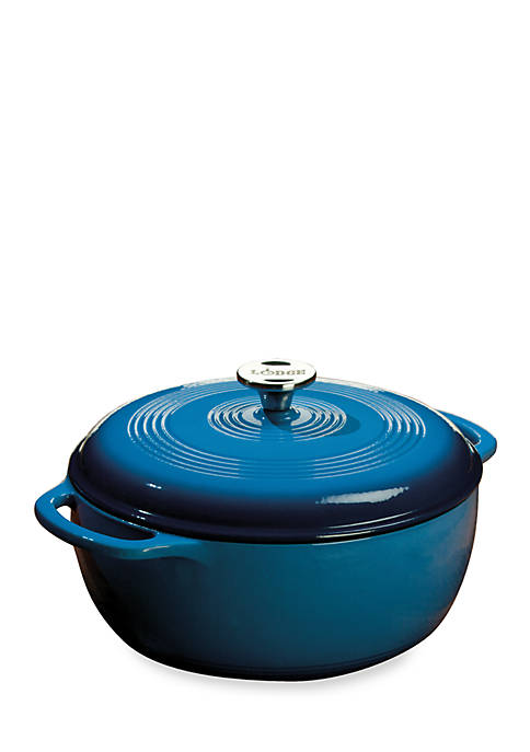 Lodge® 6-qt. Enamel Coated Cast Iron Dutch Oven