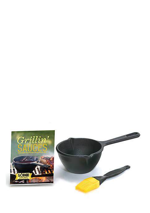 Lodge® 3-Piece Grillin Sauces Kit