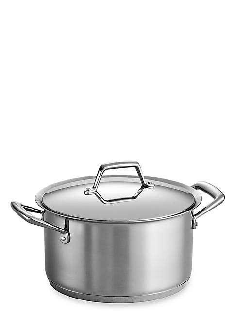 Gourmet Prima 8-qt. Stainless Steel Tri-Ply Base Stockpot - Online Only