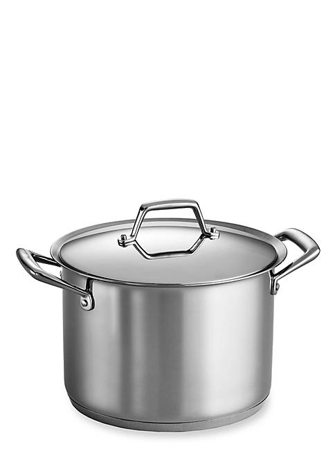 12-qt. Gourmet Prima Tri-Ply Base Stock Pot - Online Only