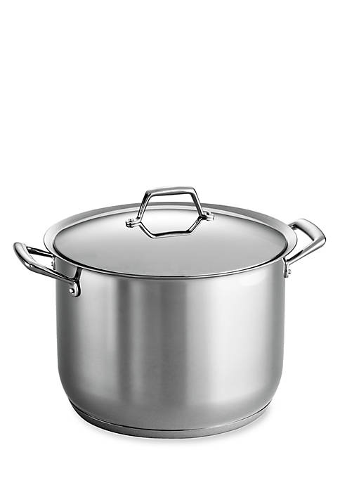 Gourmet Prima 16-qt. Stainless Steel Tri-Ply Base Stockpot - Online Only