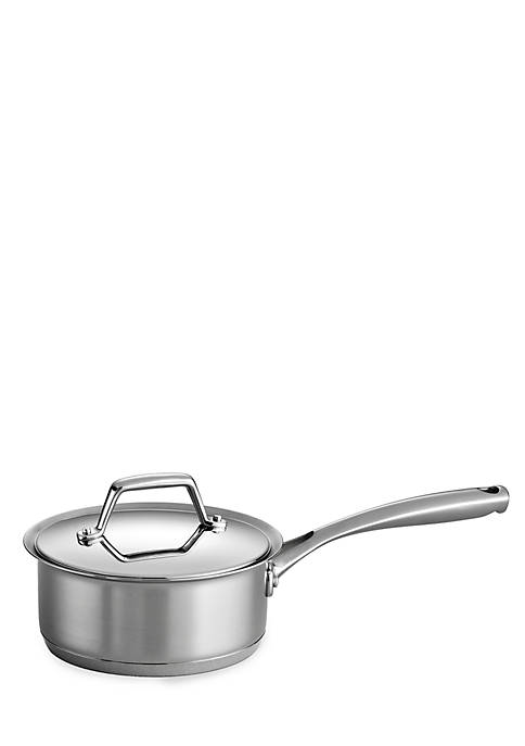 Gourmet Prima 1.5-qt. Stainless Steel Tri-Ply Base Covered Saucepan - Online Only
