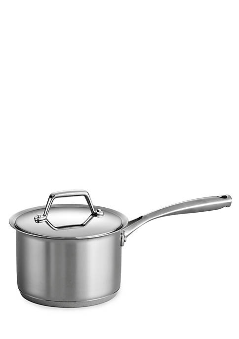 Gourmet Prima 2-qt. Stainless Steel Tri-Ply Base Covered Saucepan