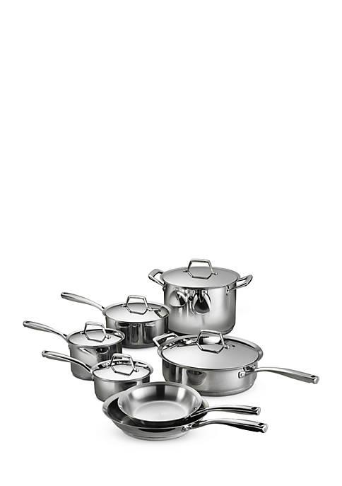 12-Piece Tramontina Gourmet Prima 18/10 Stainless Steel Cookware