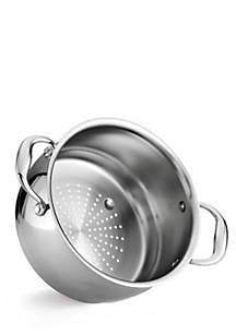 Gourmet Domus Tri-Ply Base Steamer Insert - Online Only
