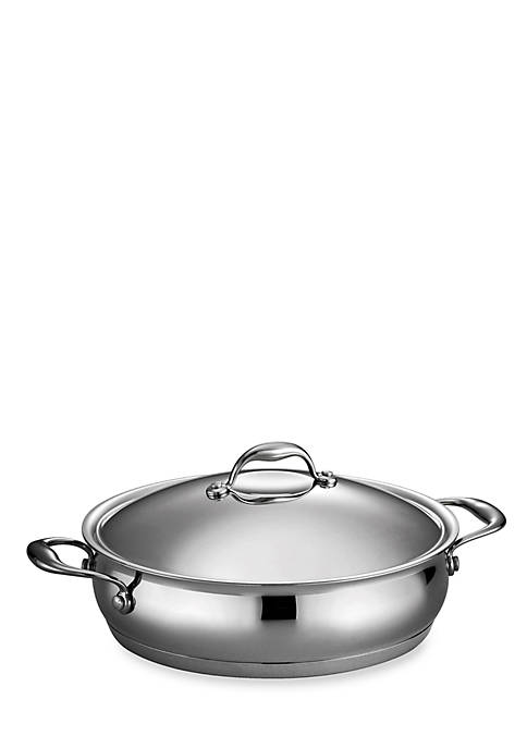 Tramontina Gourmet Domus 5-qt. Tri-Ply Base Covered Braiser