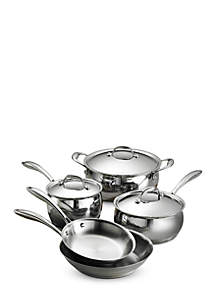 8-Piece Tramontina Gourmet Domus 18/10 Stainless Steel Cookware Set